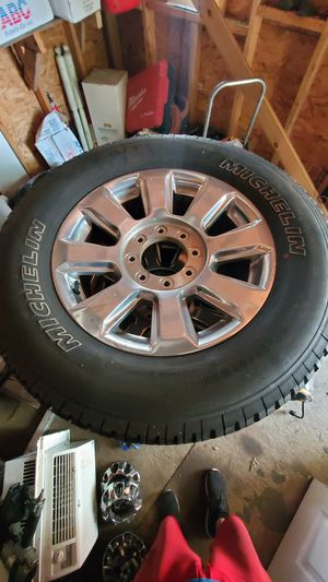 Ford f250 wheels and tires for Sale in Capitol Heights, MD