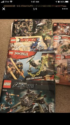LEGO Sets with Manuals Bundle $150 for Sale in Raleigh, NC