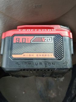 CRAFTSMAN 9.0 AH HIGH ENERGY LITHIUM ION BATTERY for Sale in Portland,  OR