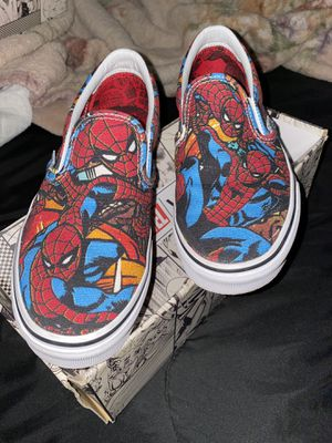 SPIDERMAN VANS NEW for Sale in Chino, CA