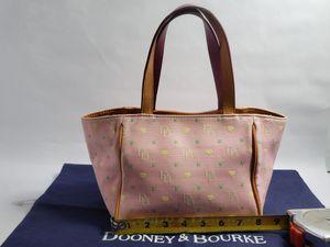 Dooney & Bourke Pink Monogram Handbag Authentic for Sale in San Antonio, TX
