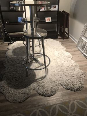 White Shag Rug for Sale in Tampa, FL