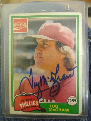 Autographed Baseball Card for Sale in San Antonio, TX