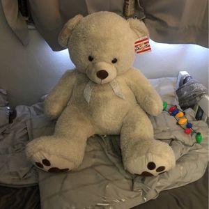 3 Ft Teddy Bear Still Has Tag for Sale in Hollywood, FL
