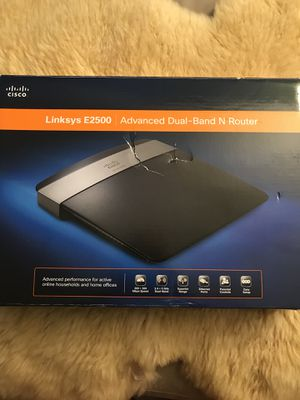 Linksys E2500 dual band router for Sale in Alexandria, VA