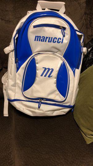 Marucci baseball/softball backpack for Sale in Tracy, CA
