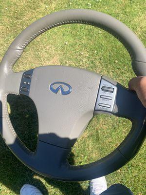Infiniti G35 coupe steering wheel for Sale in Burien, WA