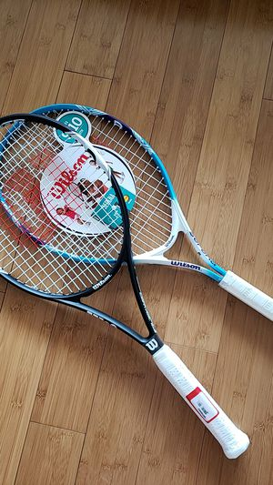 "Tennis Racket Wilson Federer Control 103 + Serena 25"" for Sale in Seattle, WA"