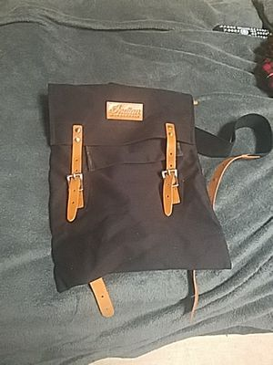Indian motorcycle canvas backpack for Sale in Ladera Ranch, CA