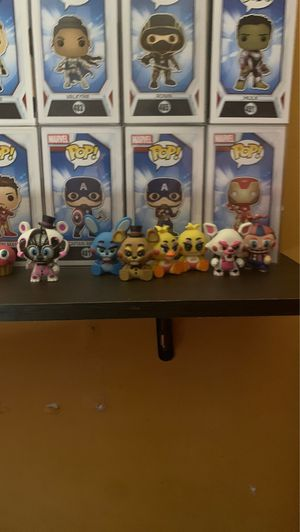fnaf (five nights at freddy's) and any pop for Sale in Anaheim, CA