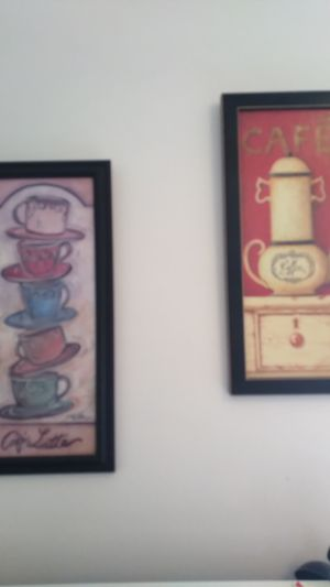 Set of two kitchen pictures for Sale in Lansing, MI