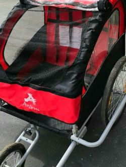 Bicycle Trailer/ 2-Child Stroller for Sale in San Angelo,  TX