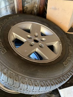 jeep wrangler rims and tires for Sale in Redondo Beach, CA