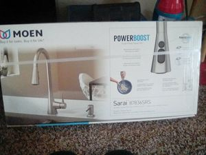 MOEN Sarai 87836SRS PowerBoost for Sale in Auburn, WA