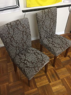 Two Cushioned Chairs for Sale in Washington, DC