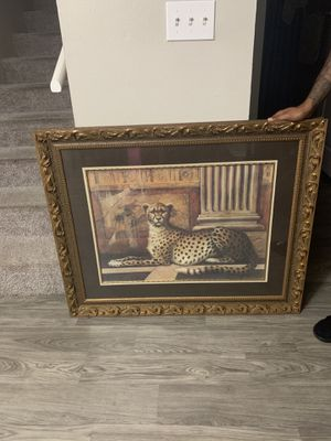 Cheetah painting for Sale in Peoria, IL