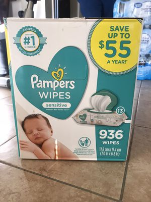 Pampers wipes 936 wipes for Sale in Anaheim, CA