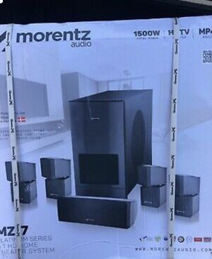 Morentz audio M-7 5.1 digital surround sound *brand new* for Sale in San Francisco, CA
