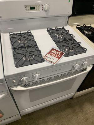 On Sale GE Gas Stove Oven 110v 4 Burner #1301 for Sale in Huntington, NY
