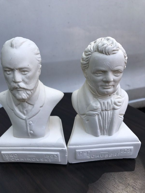Collectible old statues