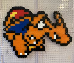 Charizard Perler Bead Sprite, Pokemon for Sale in Cary, NC