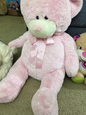 Pink teddy bear for Sale in Marietta, GA