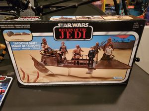 New Star Wars The Vintage Collection - Episode VI Return of The Jedi - Jabba'S Tatooine Skiff Collectible Vehicle for Sale in Cerritos, CA