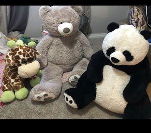 Giant stuffed animals for Sale in Boynton Beach, FL