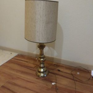 Brass Lamp Complete for Sale in Katy, TX