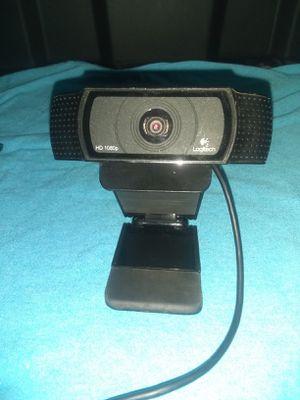 Logitech hd 1080p pro webcam for Sale in Powersville, GA