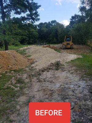 Land clearing limpieza de terreno for Sale in Porter, TX
