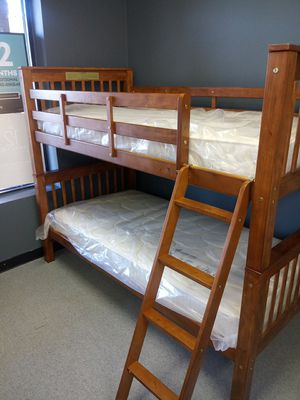 Bunk bed combos 50 down same day delivery available for Sale in Columbus, OH