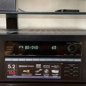 Onkyo 5.2 Receiver (almost new) TX-SR393 for Sale in Queens, NY