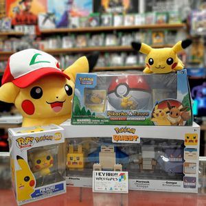 Pikachu figures and plushies (pokemon) for Sale in Houston, TX