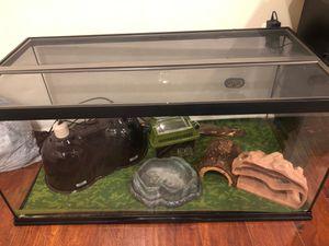 40 gallon reptile tank for Sale in Falls Church, VA