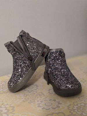 Micheal Kors Toddler Girl Glitter Boots for Sale in Boynton Beach, FL