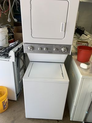 Whirlpool Stacked Washer and Electric Dryer for Sale in Pittsburgh, PA