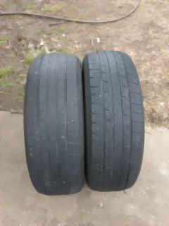 2 tires good conditio ercules 215/60 R 16 un 70% good for Sale in Tulsa, OK