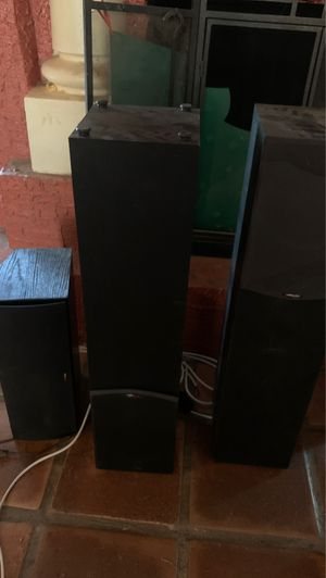 Polk audio speakers and sub for Sale in Cave Creek, AZ