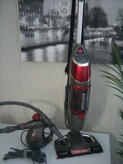 Bissell Symphony Vacuum and Steam Mop + Small steamer for Sale in Davenport,  FL