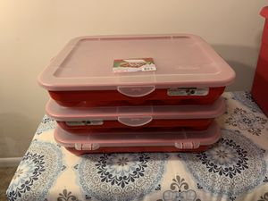 Rubbermaid Holiday Storage Containers for Sale in Raleigh, NC