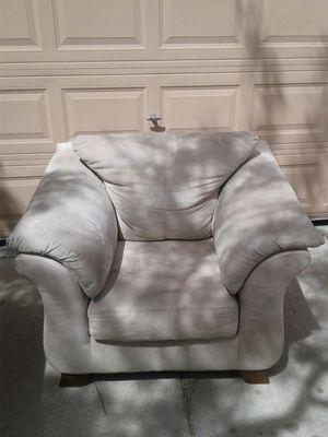 Cream chair for Sale in Tempe, AZ