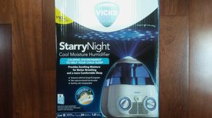 Brand New!! Vicks Starry Night Night Light Humidifier for Sale in San Francisco, CA