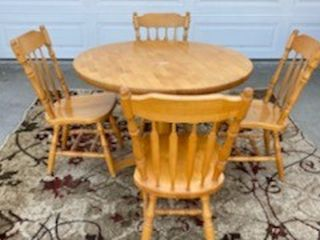 Solid Hardwood Dining Table and Chairs for Sale in Long Beach,  CA