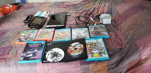 Barely used Nintendo Wii U 8 games for Sale in Queens, NY
