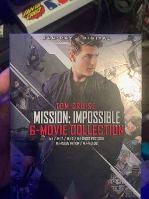 Mission impossible 6 movie collection (Blu-Ray) for Sale in Milton, FL
