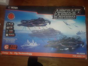 Aircraft Carrier Six Axis Aircraft 2.4 the 4 channel can be used on land .air or water. DRONE for Sale in Baltimore, MD
