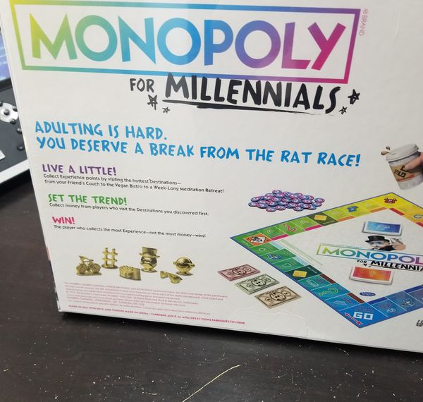 ☆ Monopoly for Milennials ☆
