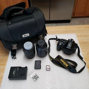 Nikon D3100 DSLR Camera Bundle for Sale in Elgin, SC