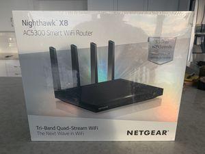 NETGEAR AC5300 Nighthawk X8 Tri-Band WiFi Router (Brand New) for Sale in Coronado, CA